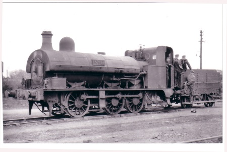 05128 No.6. 0-6-0ST Sharp Stewart 2643-1876 Chasetown 7-4-1950