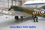 James May's Airfix Spitfire