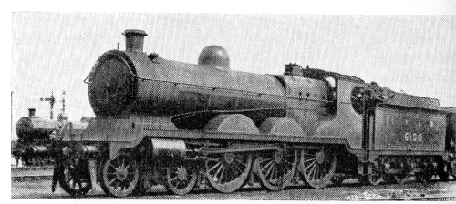 6100 - One of the 6 -7 engines in 1926