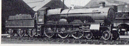 No. 2971 'Albion' as running in 1930