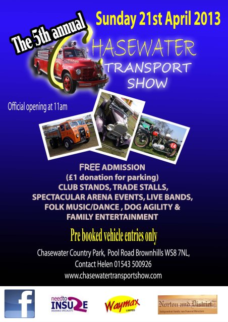 Chasewater Transport Show 2013